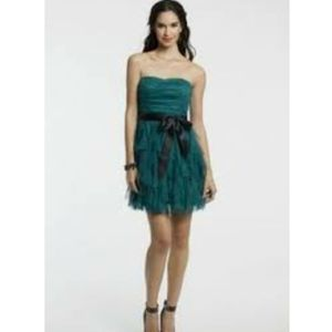 Teeze Me Teal Blue Cocktail Prom Dress